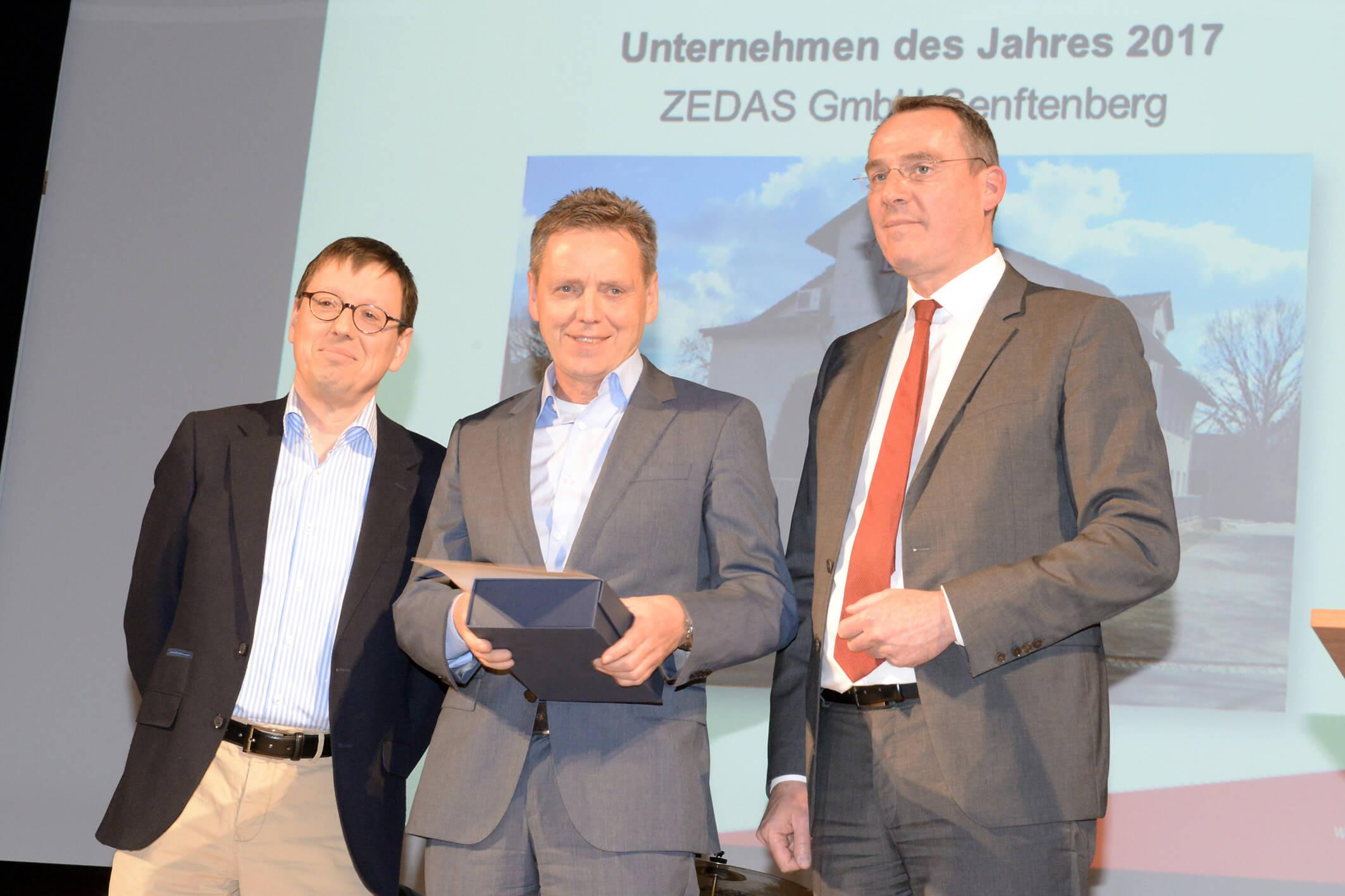 ZEDAS GmbH - Senftenberger Unternehmen des Jahres 2017